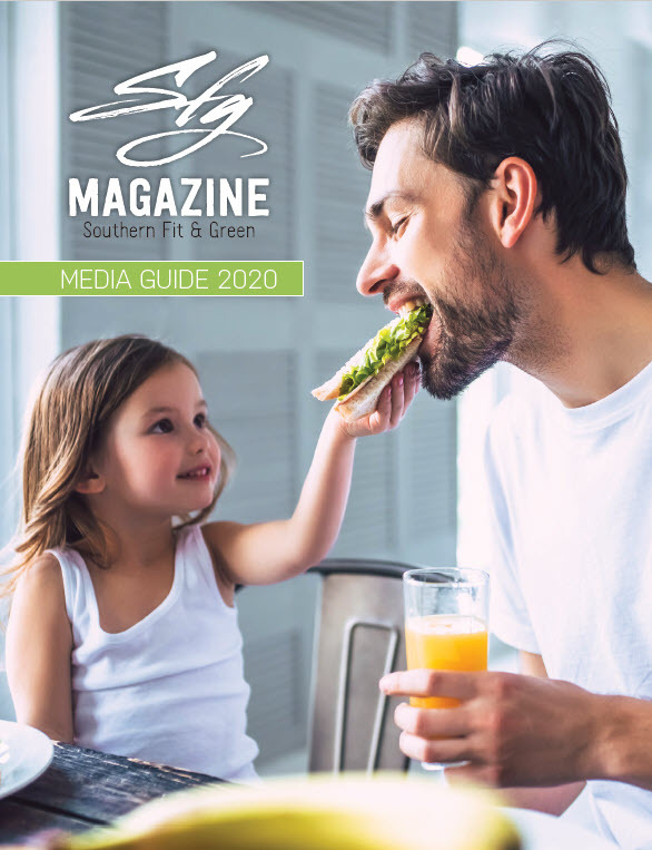 father and daughter eating bread